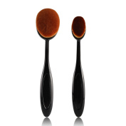 HimanJie Toothbrush Oval Brush Professional Foundation Brush Face Brushes