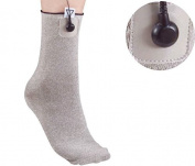 Med-Fit ® HIGHEST QUALITY SILVER CONDUCTIVE SOCK-STIMULATE THE COMPLETE FOOT AND ANKLE IN ONE TREATMENT
