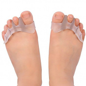 Gel Toe Separators & Toe Correctors for Dancers,Yogis & Athletes,Treatment for Bunions Relief,Hammer Toe,Hallux Valgus