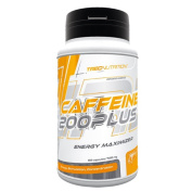 Trec Nutrition - Caffeine 200 Plus - 60 capsules / 60 portions - Energy Enhancer - Fast And Effective Stimulation - For Focus And Concentration