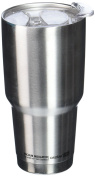asobu Big Boss High Performance Double Walled Insulated Stainless Steel Travel Coffee Mug - Large 890ml Coffee Cup-Silver