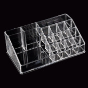 ACRYLIC MAKEUP COSMETIC BOX CASE COMPARTMENTS STORAGE HOLDER JEWELLERY BEDROOM