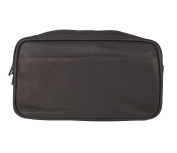 bugatti Sartoria Toilet Bag Leather 27 cm braun