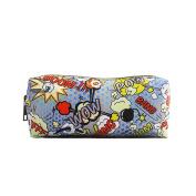 Miss LuLu Women Girls Canvas Students Pen Pencil Case zipper Bags Cosmetic Travel Makeup Bags Pouch Box