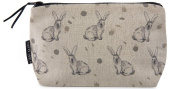 Rabbit makeup bag - natural