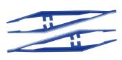 Sterile Tweezers (Blue Pack of 100 Original Tiga-Med Quality Professional