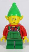 LEGO Christmas Elf Minifigure from Set 10245 Santa's Workshop