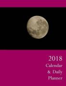 2018 Calendar & Daily Planner