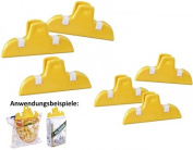 6 Piece Set with Clips