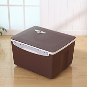 COLLECTOR -Car household quality plastic picnic box exquisite hot and cold double double insulating box