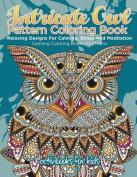 Intricate Owl Pattern Coloring Book