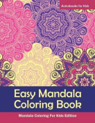 Easy Mandala Coloring Book