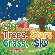 Trees, Stars, Grass, and Sky