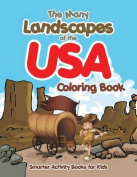 The Many Landscapes of the USA Coloring Book