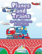 Planes and Trains Spot the Difference Activity Book