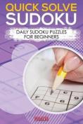 Quick Solve Sudoku