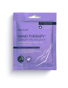 BeautyPro HAND THERAPY Collagen infused glove with removable fingertips