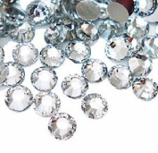 Approx. 100 Rhinestones Round Crystal Clear - Cute Nails