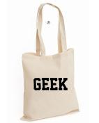 Geek Genius Computer Dope Swag Unisex Funny Nerd Cotton Tote Bag