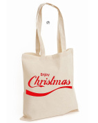 Enjoy Christmas Merry Snowman Filthy Animal Holiday Gift Unisex Cotton Tote Bag