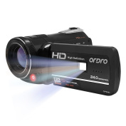 Ordro HD Digital Video Camcorder Camera Wifi Full HD 1080P Support Night Vision Remote Control Self-timer Functions