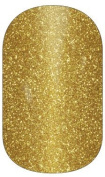 Miss Sophie's Nail Foil Golden Eye 20 Ultra, thin self-adhesive Long-Lasting Nail Wraps