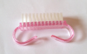 New Nail Art Dust Brush Pink Nail Brush On Nail Art Accessory Care Cleaning