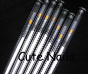 1 x Paint Brush with White Wood Style for UV Gel Nails - Cute Nails