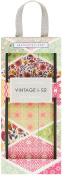 Vintage & Co Fabrics and Flowers Emery Board Set, Pack of 3