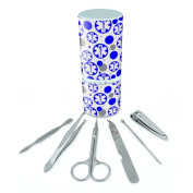 Manicure Pedicure Grooming Beauty Personal Care Travel Kit (Tweezers,Nail File,Nail Clipper,Scissors) - Medical MD RN EMT Star of Life Health