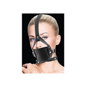 Ouch! Black Leather Mouth Gag