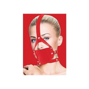 Ouch! Red Leather Mouth Gag