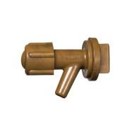 Oryx 5050510 Tap Barrel Plastic Mini with Nut 1.9cm
