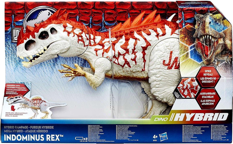 Jurassic World Hybrid Rampage Indominus Rex Figure