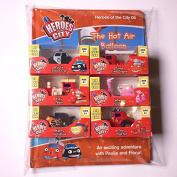 Heroes of the City Book and Toy kit