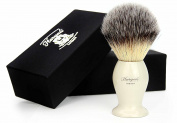 Syntactic (Badger looking ) Hair Shaving Brush with Ivory Handle/Base. Perfect for smooth and great shave.