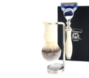 3 Piece Shaving Kit in Ivory Colour