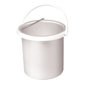 030414BK - Deo 1000cc Inner Wax Bucket Pot Container Insert Handle White