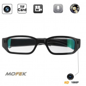 Mofek 8GB 1920x1080P HD Hidden Camera Sport Video Spy Glasses Mini Eyewear DV Camcorder