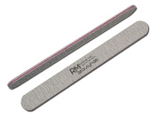 RM Beauty Nails Professional Straight Zebra Nail File 100/100 Grit Pack of 25)