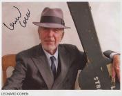 Leonard Cohen SIGNED Photo 1st Generation PRINT Ltd 150 + Certificate