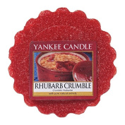 Yankee Candle Rhubarb Crumble Tarts Wax Melts, Red