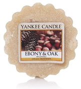 Yankee Candle Ebony & Oak Tarts Wax Melts, Cream