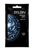 Dylon Hand Dye, Powder, Pewter Grey 50g