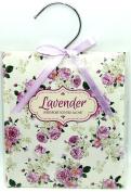 Scented Wardrobe Hanger - Scented Sachet in - Lavender Scent