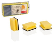 Tescoma Kitchen Sponges, 3 pcs with Grip Clean Kit, Assorted
