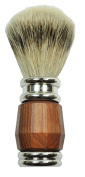 Badger Shaving Brush Rosewood with Metal 100% Silver Tip (G) Gold