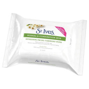 St. Ives Refreshing Facial Cleansing Wipes (35) - Pack of 6