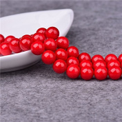 3mm Round Red Coral Beads Loose Gemstone Beads for Jewellery Making Strand 38cm