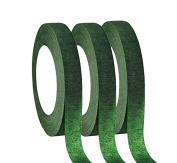 Sundarling Floral Tape,1.3cm Dark Green Floral Tapes for Bouquet Stem Wrap Florist Tape 30 Yards